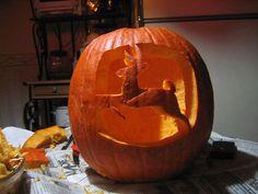 Deere pumpkin carving
