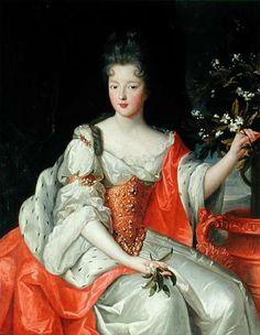 Louise Francoise Princesse de Conde daughter of Louis XIV and Madame de Montespan,Gobert