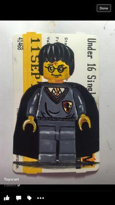 Harry- oil on ticket
