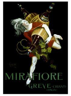 Mirafiore, Greve Chianti Giclee Print by Leonetto Cappiello at Art.com