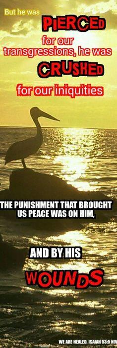 Isaiah 53:5 NIVUK