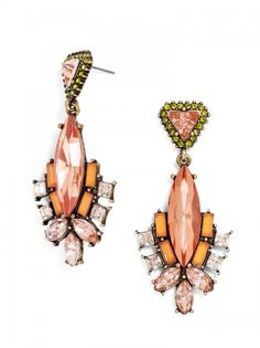 Space Marquise Drops Earring   BaubleBar