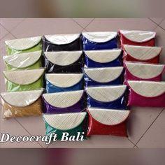 Clutch Pandan Size medium Idr 70k #Taslontar #tasanyam #taslokal #taspandan #dompet #dompetlontar #clutch #clutchpandan #handmade #handicraft #craft #gift #madeinbali #madeinindonesia #bali