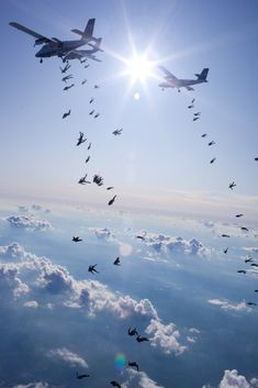 Let's all go down together: Amazing pictures as 108 skydivers set new world record for freefall formation | Mail Online
