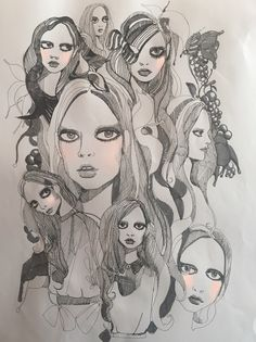 Bora Aksu Illustration SS17 pink story Part 3