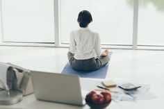 Don& think yoga is very important in business? Think again with these 6 benefits of yoga to increase productivity. Pranayama, Take Care Of Yourself, Finding Yourself, Relax, Improve Productivity, Mental Strength, Daily Meditation, Yoga Benefits, Simple Way
