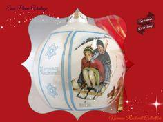 Christmas Ornament 1980 Vintage Christmas by EauPleineVintage