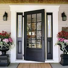 curb appeal front door  This would work for your entryway Jiffer.
