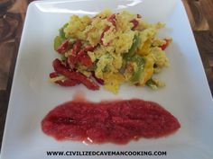 Tropical Scramble | Civilized Caveman Cooking Creations