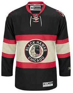 1a8f63507d7 Chicago Blackhawks Youth Alternate Premier Jersey. Custom Hockey ...