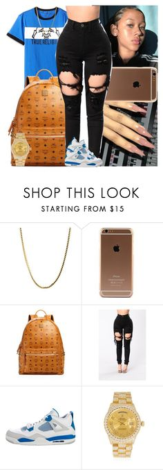 """Untitled #1573"" by msixo ❤ liked on Polyvore featuring MCM, NIKE and Rolex"