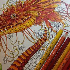 Wip in this gorgeous book of Tomislav Tomic ❤    #tomislavtomic #zemljasnova #dromenvanger  #Polychromos #Posca #coloringmasterpieces #mycreativeescape #coloring_secrets #coloringhabit #desenhoscolorir #coloriage #artecomoterapia #divasdasartes #bayan_boyan #artincolor #artwithpencils #addictedtocoloring  #dailycolouring #coloringbook #coloringaddict #colortherapy #ilovetocolor #colormania #kleuren #coloring #fangcolourfulworld #perfectsweetcolors
