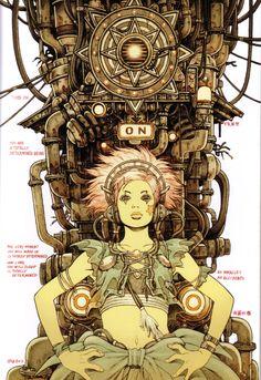 The Art & Animation of Tatsuyuki Tanaka