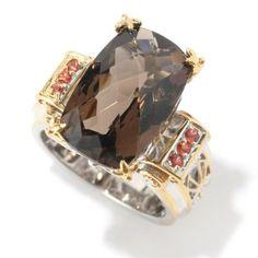 Gems en Vogue Faceted Gemstone Cocktail Ring