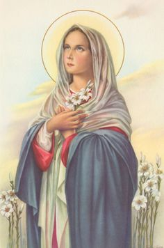 Holy Card, from Italy, circa 1950's.