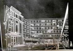 Projekt łącznika między zabudową na ul. 27 Grudnia a Teatrem Polskim - zdjęcie