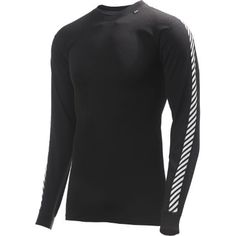 Helly Hansen Lifa Stripe Crew Base Layer Base Layers at Cycling Bargains Online Bike Store, Long Underwear, Helly Hansen, Warm Boots, Layering Outfits, Aw17, Staple Pieces, White Outfits, Casual Tops