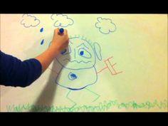 profielwerkstuk, het analyseren van kindertekeningen