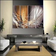 Handmade Modern Oil Painting On Canvas Wall Paintings Abstract Painting For Living Room Wall Decor Hang Picture Group Paintings(China (Mainland))
