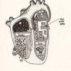 Art and illustrations of the human anatomy. Heart Art, Art Plastique, Art Inspo, Anatomy, Cool Art, Art Drawings, Music Drawings, Art Photography, Illustration Art