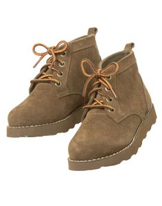 Soft suede leather and rugged sole are great for wild adventures.