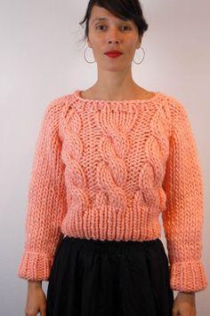 una: maiami. chunky knit