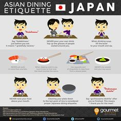 Asian Dining Etiquette Series: Dining in Japan – – Best in Travel – The best places to visit in 2020 Japan Travel Tips, Tokyo Travel, Asia Travel, Go To Japan, Visit Japan, Japan Trip, Tokyo Trip, Japanese Phrases, Japanese Words