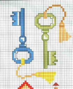 Really good inspiring ideas to discover Tiny Cross Stitch, Cross Stitch Bookmarks, Cross Stitch Heart, Beaded Cross Stitch, Cross Stitch Designs, Cross Stitch Embroidery, Cross Stitch Pattern Maker, Cross Stitch Patterns, Loom Patterns
