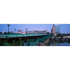 Bridge across river Gay Street Bridge Tennessee River Knoxville Knox County Tennessee USA Canvas Art - Panoramic Images (36 x 12)