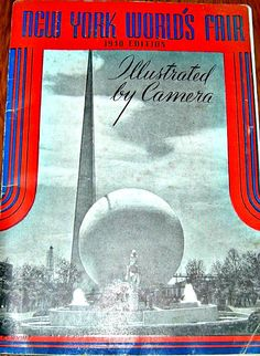 1940 New York Worlds Fair illustrated by Camera by GoodBuyGrace