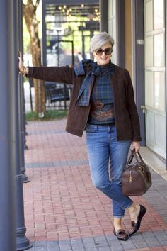 The Best Fashion Ideas For Women Over 60 - Fashion Trends Over 60 Fashion, Mature Fashion, Over 50 Womens Fashion, Fall Fashion Trends, Fashion Over 50, Look Fashion, Plus Size Fashion, Winter Fashion, Fashion Outfits