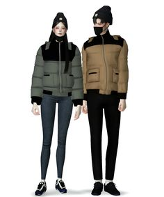Sims Four, Sims 4 Cc Finds, Sims 4 Clothing, The Sims4, Sims Cc, Swatch, Jumper, Winter Jackets, Clothes