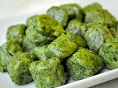 Receta Light: Deliciosos Ñoquis de espinaca y ricota - CocinaChic