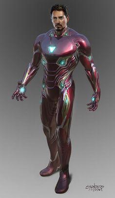 Avengers: Infinity War - Iron Man Mk 50 suit-up, Phil Saunders Marvel Dc, Marvel Comics, Marvel Heroes, Iron Man Wallpaper, Marvel Wallpaper, Marvel Concept Art, Iron Man Art, Iron Man Avengers, Iron Man Tony Stark