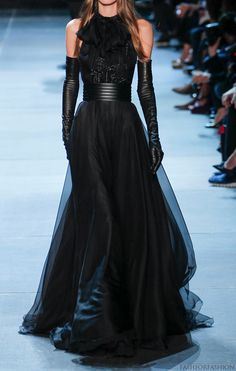 Saint Laurent Spring 2013 Ready-to-Wear Fashion Show Gloves available at www.bridalgloves.com