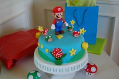 Super Mario Brothers Birthday Cake by rebeccabillington, via Flickr | Nintendo NES Video Game