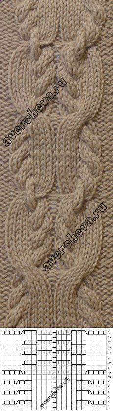 Pattern 699 braids | catalog knitting patterns