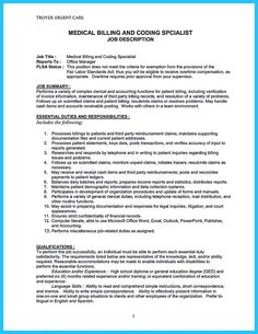 nice Exciting Billing Specialist Resume That Brings the Job to You,