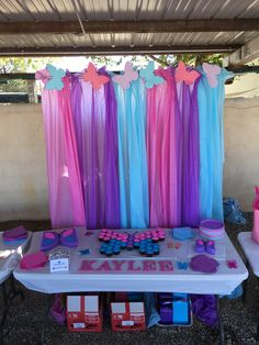 Pink And Purple Birthday Party Ideas Birthday Ideas Girls