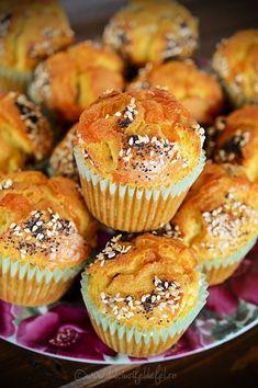 Briose aperitiv - Dulciuri fel de fel Vol Au Vent, Nutella, Muffins, Food And Drink, Appetizers, Cupcakes, Sweets, Lunch, Baking