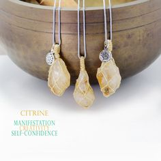 Raw Citrine pendant necklace, Handmade natural tumbled yellow stone necklace Stone Necklace, Arrow Necklace, Beaded Necklace, Pendant Necklace, Citrine Pendant, Tumbled Stones, Natural Shapes, Stone Pendants, Necklace Lengths