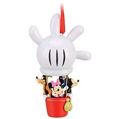 Disney Mickey Mouse Clubhouse Sketchbook Ornament | Disney StoreMickey Mouse Clubhouse Sketchbook Ornament -  Take off on an adventure with your friends from Mickey Mouse Clubhouse! Mickey, Minnie, Donald Duck and Goofy will be landing soon on your Christmas tree for a fun-powered holiday!