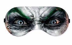 Joker Suicide Squad Sleep Sleeping Eye Mask Masks Cover Sleep Mask Night Blindfold Blindfolds Travel Kit cover covers patch Slumber Eyewear by venderstore on Etsy