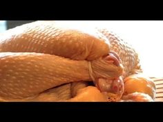 Learn three fast techniques to tying up your chicken (or any poultry, for that matter) for perfect cooking. No string? No problem. Learn a quick and efficien...