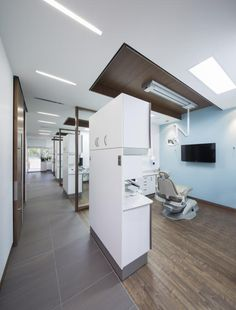 PHOTO TOUR: Bloor West Dental Group | Healthcare Design --- Typical operatories. Photo: Stephane Groleau
