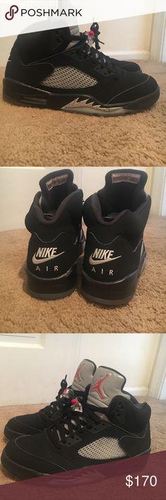 "Jordan Metallic 5s 2016 summer release (retail: $220) ""OG Nike Air"" 9/10 only worn a few times Air Jordan Shoes Sneakers"