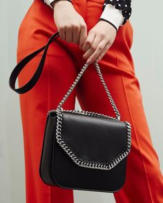 Add edge to any outfit with the #FalabellaBox.  Discover the new collection at #StellaMcCartney.com