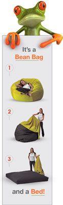 Bean bag bed-- Legit!!