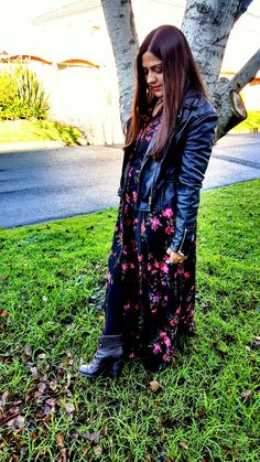 Maxi shirt dress - Styled for Autumn / Winter