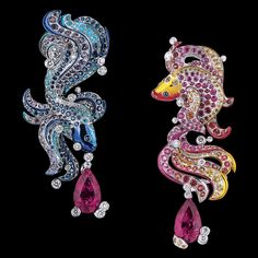 Dior Jewellery - Le Coffret de Victoire: Le Coffret de Victoire earrings. Discover more on www.dior.com
